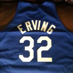 Authentic DR J Erving jersey NYNets size 60